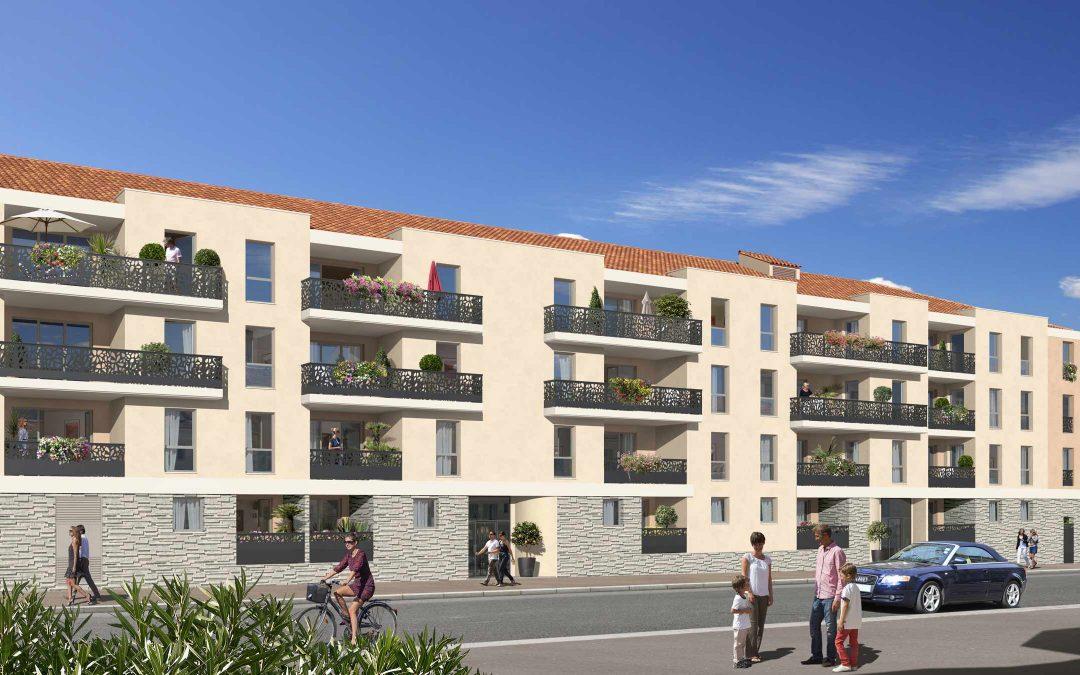 Programme immobilier Coeur Laurentin / ST LAURENT DU VAR