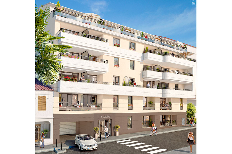 Programme immobilier Antibes